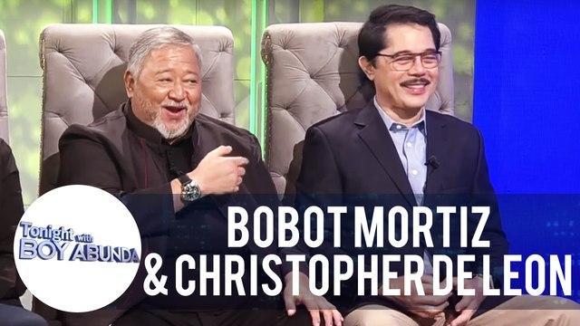 Bobot Mortiz compares Christopher de Leon to Gerald Anderson   TWBA