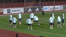 La selección entrena para enfrentarse a Malta y Rumanía