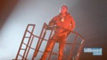 Travis Scott Brings Out Kanye West for Astroworld Festival Headlining Set | Billboard News