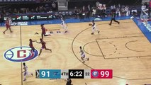 Kevin Hervey Posts 18 points & 15 rebounds vs. Agua Caliente Clippers