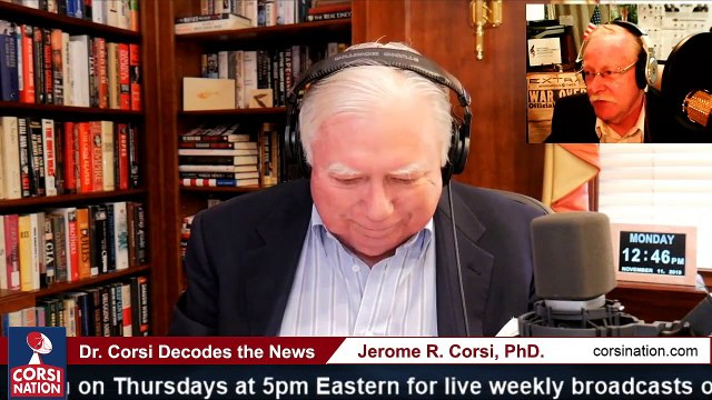 Dr Corsi DECODES 11-11-19 PART 2 We honor Veterans and Present a Strategy for Trump to Expose & Defeat Schiff Ukrainegate Hoax