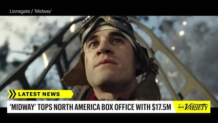 'Midway' Wins North American Box Office with $17.5 Million