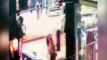 Vídeo mostra bicicleta sendo furtada na Avenida Brasil