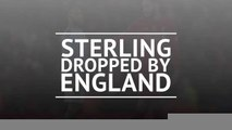 Breaking News - England drop Sterling over Gomez bust up
