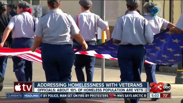 Homelessness and veterans in Bakersfield