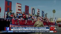 Celebrating those who served at the 100th annual Veterans Day parade