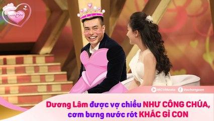 Lê Dương Bảo Lâm được vợ gọi là CÔNG CHÚA khi ở nhà - vợ phải ĂN CẮP PHẤN SON của chồng để dùng