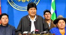 """ABD destekli ordu tarafından istifa ettirilen Evo Morales, """"Döneceğim"""" açıklaması yapıp Bolivya'dan ayrıldı"""