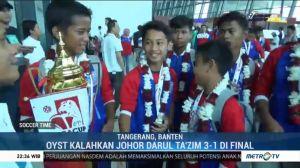 Okky Youth Soccer Team Kembali Juara Singa Cup