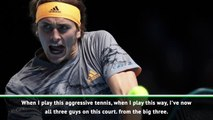 I can beat anyone at the Tour Finals - Zverev