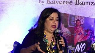 Farah Khan Unveils Kaveree Bamzai's Book 'No Regrets'