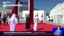 """L'avenue qui conduit au Louvre Abou Dahbi rebaptisée """"Avenue Jacques Chirac"""""""