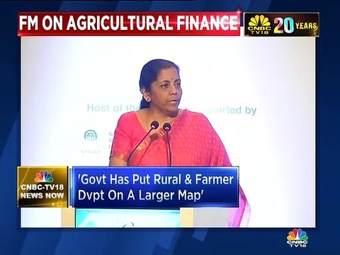 FM Nirmala Sitharaman says this government has put rural development and farmer concerns on a larger map