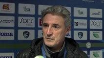 Coupe de France / Avant HAC - Dunkerque, interview de Claude Robin