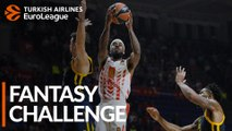Turkish Airlines EuroLeague Regular Season Round 8: Fantasy Challenge