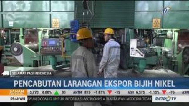 Larangan Dicabut, 9 Perusahaan Kembali Ekspor Nikel