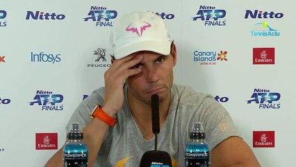 "Masters de Londres 2019 - Rafael Nadal upset after his defeat against Alexander Zverev to say : "" Bullshit"""