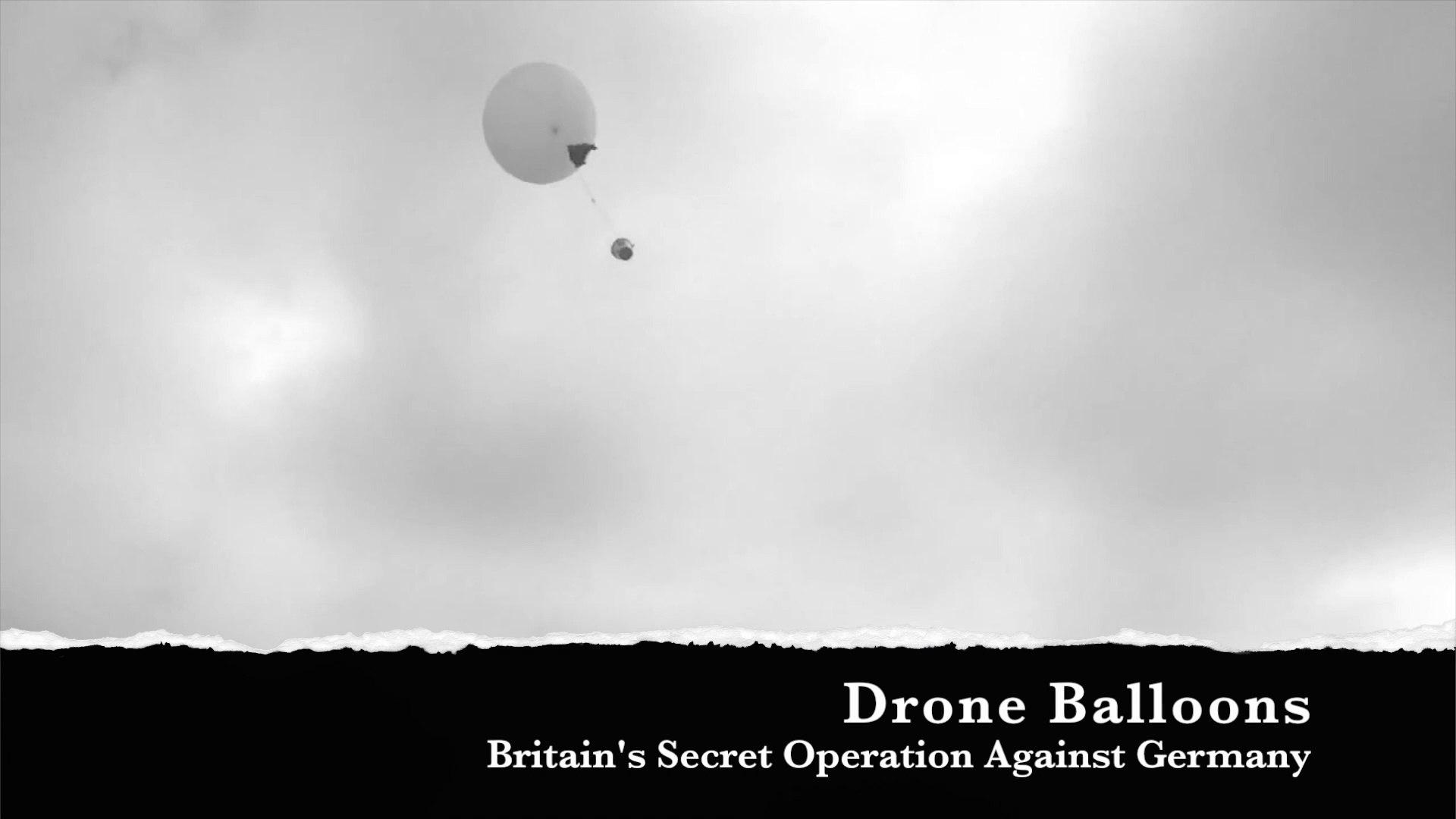 Killer Balloons : Britain's Secret Offensive Against Germany