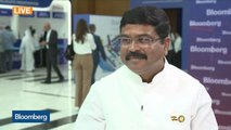 Indian Oil Minister on Saudi Supplies, Domestic Demand, Gas Transition