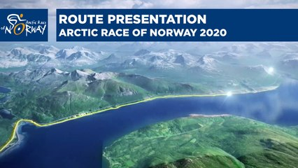Route presentation - Arctic Race of Norway 2021