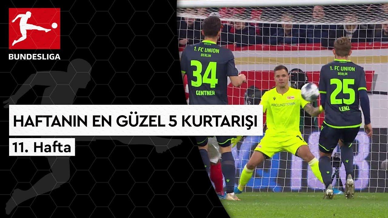 Bundesliga'da 11. Haftanın En Güzel 5 Kurtarışı (2019/20)