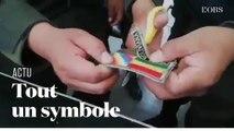 """En Bolivie, le """"wiphala"""", drapeau des indigènes est attaqué après le départ d'Evo Morales"""