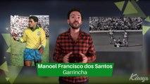Les légendes du Foot Brésilien : GARRINCHA