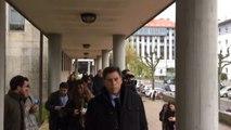 Juan Carlos Quer llega al juicio por el asesinato de su hija