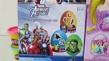 Coloring Easter Eggs with Hello Kitty, Marvel Avengers, and Disney Princess Sticker Decorations-