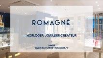 Bijouterie Romagné, Joailler créateur, horloger à l'Aigle.