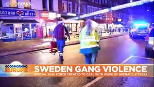 Swedish Police to create special unit to tackle wave of violence and explos...