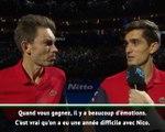 Masters - Herbert : ''C'est vrai qu'on a eu une année difficile avec Nico''