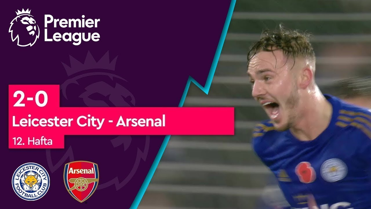 Leicester City - Arsenal (2-0) - Maç Özeti - Premier League 2019/20