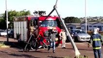 Envolvido em acidente, carro carregado com droga é levado para delegacia