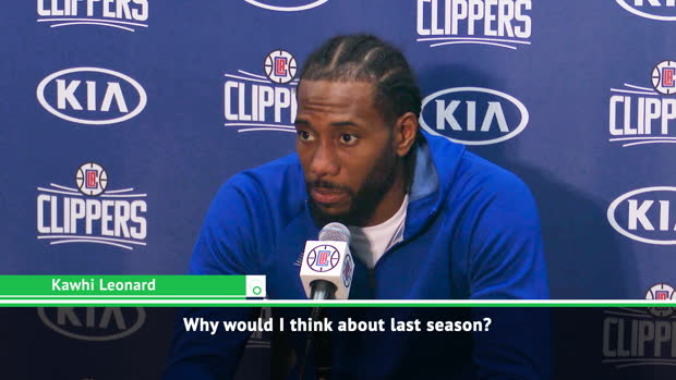 BASKETBALL: NBA: Raptors success in the distant past for Clipper Kawhi