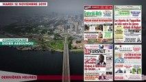 Le Titrologue du 12 Novembre 2019 / Attaque contre Ouattara, Adjoumani:«la CDRP est une escroquerie politique»