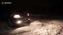 Tempête de neige au Canada... Bien pire que notre hiver en France !