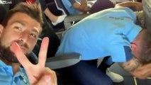 Crise de panique en avion du joueur football de la Lazio de Rome, Immobile !
