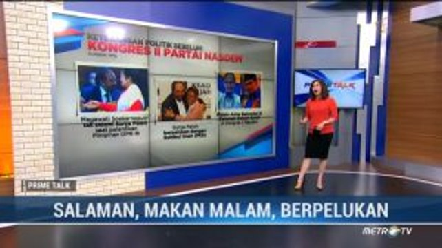 Pelukan Erat Jokowi-Surya Paloh (1)
