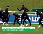 Sterling and Gomez train after England 'disturbance'