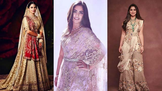Isha Ambani looks stunning in Saree   साड़ी में बेहद स्टाइलिश लगी बिजनेसवुमन ईशा अंबानी   Boldsky