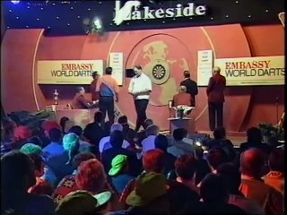 BDO World Darts Championship Final 1998 - Raymond van Barneveld vs Richie Burnett  1of3