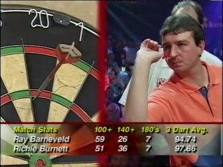 BDO World Darts Championship Final 1998 - Raymond van Barneveld vs Richie Burnett  3of3
