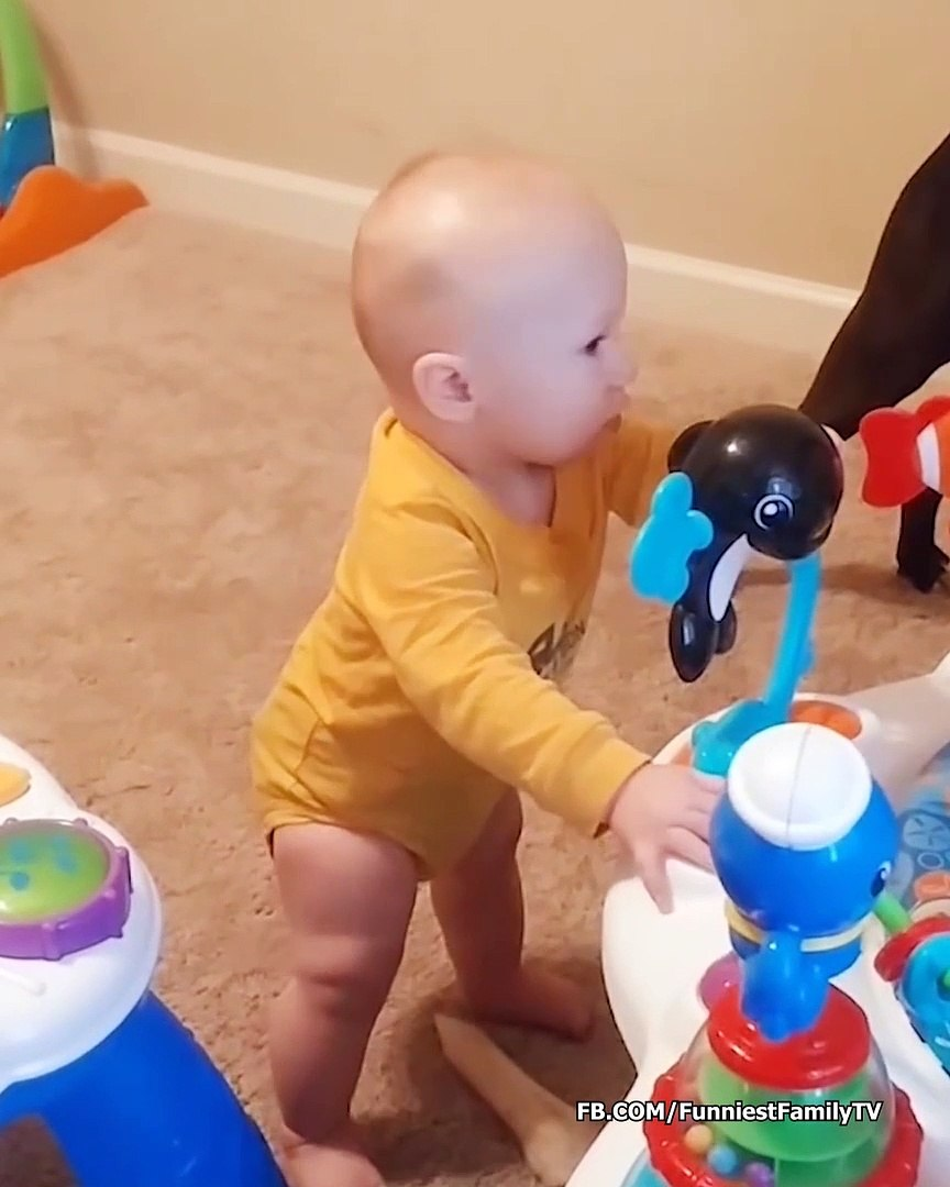 Super Cute Baby Playing With Dogs Funny Baby Videos Video Dailymotion