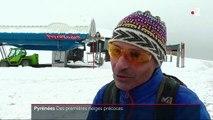 Pyrénées : les stations de ski se préparent après les premières neiges