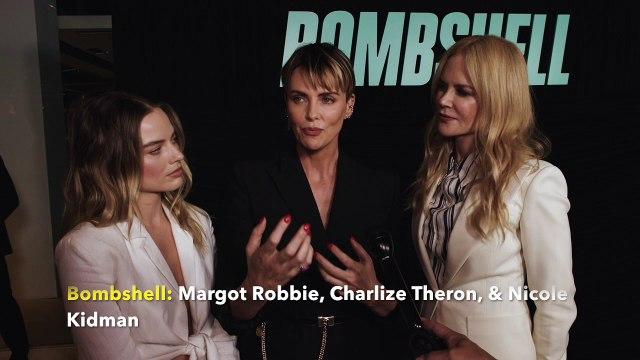 Bombshell: Margot Robbie, Charlize Theron & Nicole Kidman
