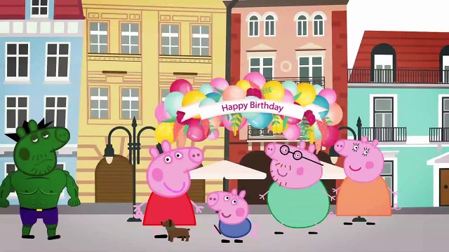 Peppa Pig English Character New Episodes Grim Reaper Takes Peppa pig Away