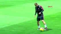 Spor a milli futbol takımı, izlanda maçı hazırlıklarına devam etti