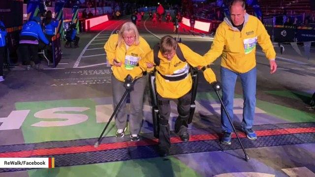 Paralyzed Veteran Using Exoskeleton Finishes Marathon In 3 Days