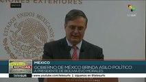 México concede asilo político al presidente de Bolivia Evo Morales